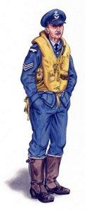 PlusModel[AL4056]1/48WWII英 スピットファイア戦闘機 パイロット