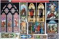 Reality in Scale[RIS35064]宗教的なステンドグラス(A4版)