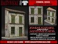 Reality in Scale[RIS35255]フランスの古い家(レジン製)