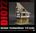 Reality in Scale[72006]1/72 ドイツの木骨造の家屋