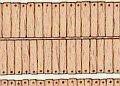 Reality in Scale[SI3-002]レーザーカットされた木の板 釘跡有り