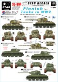 STAR DECALS[SD35-894]1/35 WWIIのフィンランド戦車 #4 T-34-76/85戦車 デカールセット