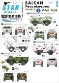 STAR DECALS[SD35-C1005] 1/35 バルカン半島の平和維持部隊#4.フランス軍 VAB UNPF/IFOR  デカールセット