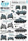 STAR DECALS[SD35-C1017] 1/35 現用仏 アグレッサー部隊のフランス車両 AMX-30 B2 & B2 ブレンヌス & VAB 4x4 デカールセット