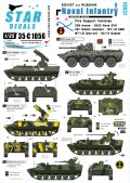 STAR DECALS[SD35-C1056]1/35 ソビエト/ロシア軍の海軍歩兵 #3 自走砲/対空車両 デカールセット