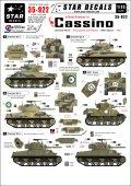 STAR DECALS[SD35-922] 1/35 モンテ・カッシーノの連合軍 ニュージーランド、ポーランド、米軍 デカールセット