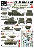 STAR DECALS[SD35-935]1/35 朝鮮戦争のカナダ軍シャーマンデカールセット