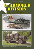 Tankograd[TG-US 3019]1st Armoured Division 1971-2011ドイツ駐留の米第一機甲師団
