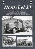 Tankograd[TG-WH 4018]ヘンシェル 33 3トン6x4 トラック