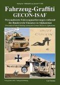 Tankograd[MFZ-S 5041]Fahrzeug-Graffiti GECON-ISAF アフガニスタン駐留ドイツ軍車両のパーソナルマーキング