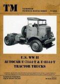 Tankograd[TG-TM 6005]US Autocar U-7144T&U-8144T Tractor Trucks