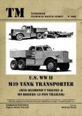 Tankograd[TG-TM 6018]U.S. WW II M19 Tank Transporter