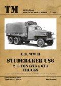 Tankograd[TG-TM 6037]スチュードベーカー US6 2 1/2トン 6x6 & 6x4 テクニカルマニュアル