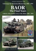 Tankograd[TG-F9006]BAOR The Final Years of the British Army of  the Rhine 1980-1994