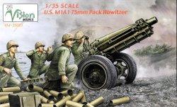 画像1: ヴィジョンモデルズ[VM-35001]M1A1 75mm パックホィッツァー