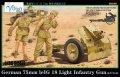 ヴィジョンモデルズ[VM-35007]1/35 WWII独 7.5cm leIG18 歩兵砲 クルー付き