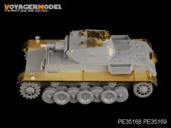 画像3: VoyagerModel [PE35168]WWII独 VK3001(H)試作戦車 エッチングセット(トラペ01515用)