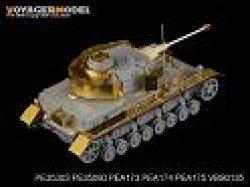 画像2: VoyagerModel [PE35303]1/35 WWII独 IV号戦車D型長砲身型 エッチング基本セット(DML6330用)