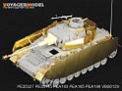 画像1: VoyagerModel [PE35327]1/35 WWII独 IV号戦車H型後期型/J初期型 エッチングセット(DML6300/6549用)