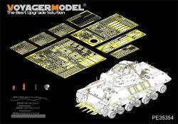 画像1: VoyagerModel [PE35354]1/35 WWII米 M10駆逐戦車 エッチング基本セット(AFVクラブ35024)