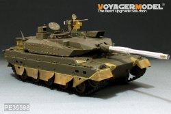 画像2: VoyagerModel [PE35598] 1/35 陸自 10式戦車 エッチングセット(金属砲身、機銃付き)(タミヤ35329用)