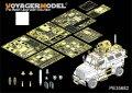 VoyagerModel [PE35682] 1/35 1/35現用米4X4MRAP マックスプロ装甲車エッチングセット(キネティック K61011用)