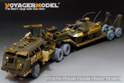 """画像3: VoyagerModel [PE35703]1/35""""WWII米 M25ドラゴンワゴン 戦車運搬車 エッチングセット"""