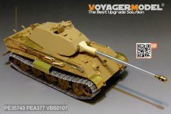 画像2: VoyagerModel [PE35743]WWII独 キングタイガー(ポルシェ砲塔)エッチングセット(タミヤ35169用)