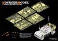 VoyagerModel [PE35744] 現用米 M-ATV MRAP クロウズII銃塔付き エッチングセット(パンダ 35007用)