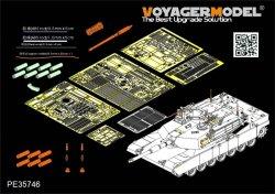 画像1: VoyagerModel [PE35746]1/35 現用米 M1A2 SEP V2 エイブラムス エッチング基本セット(DML3556用)