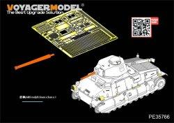 画像5: VoyagerModel [PE35766]WWII French SOMUA S35 Medium Tank Basic(For TAMIYA35344)