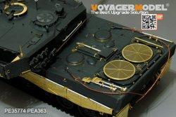 画像2: VoyagerModel [PE35774]現用独 1/35 レオパルト2A4 エッチング基本セット(モンモデルTS-016用)