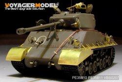 画像1: VoyagerModel [PE35810]WWII米 M4A3E8 シャーマン「イージーエイト」エッチング基本セット(タミヤ35346用)