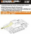 VoyagerModel [VBS0125] 1/35 WWII German StuG.III Ausf.G Late Production75mm Stuk40 L/48 Barrel w/Saukopf Mantlet Pattern 2 (For All)
