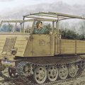 サイバーボビー[CH6684] 1/35 WW.II ドイツ軍 RSO/03(ディーゼルエンジン型)w/5cm Pak38 対戦車砲