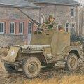 サイバーホビー[CH6714] 1/35 WW.II アメリカ陸軍 1/4トン 4x4 小型装甲車 w/キャリバー50