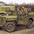 サイバーホビー[CH6725]1/35 WW.II イギリス軍 SAS 4x4 小型軍用車 ヨーロッパ戦線 +第2SAS連隊歩兵フィギュア