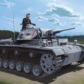 サイバーホビー[CH6773]1/35 WW.II ドイツ軍 III号戦車G型 5cm砲搭載型潜水戦車