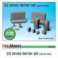 DEF.MODEL[DM35007]U.S. バリヤーセット ナロータイプ