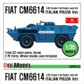 DEF.MODEL[DM35010]フィアット CM6614 イタリア警察仕様
