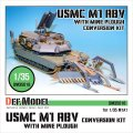 DEF.MODEL[DM35018]M1 ABV w/マインプラウ コンバージョン(M1A1用)
