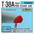 DEF.MODEL[DS48008]1/48 T-38A タロン FOD カバーセット(ウルフパック用1/48)