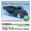 DEF.MODEL[DW30017]オペル ブリッツ 3t カーゴトラック 自重変形タイヤ(タミヤ/イタレリ用)