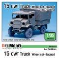 DEF.MODEL[DW30023]イギリス 15 CWT トラック 自重変形タイヤ(イタレリ用)