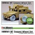 DEF.MODEL[DW35003A]M1114 ハンビー MT 自重変形タイヤ(ブロンコ/タミヤ用)
