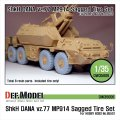 DEF.MODEL[DW35006]ShkH ダナ vz.77 MP914 自重変形タイヤ(ホビーボス用)