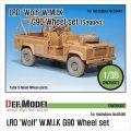 DEF.MODEL[DW35007]LRD ウルフ W.M.I.K. G90 自重変形タイヤ(ホビーボス用)