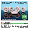 DEF.MODEL[DW35022]U.S. RSOV ディフェンダー 自重変形タイヤ(ホビーボス用)