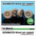 DEF.MODEL[DW35024]ブッシュマスター 自重変形タイヤ(ショーケースモデル用)