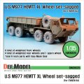DEF.MODEL[DW35025]M977 HEMETT XL 自重変形タイヤ(イタレリ用)